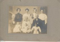 Image of Hershner, Clymer and Mitchell famly members