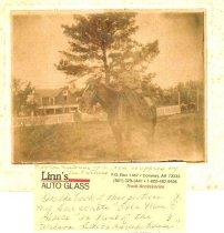 Image of Ella Mae Davis on Horseback