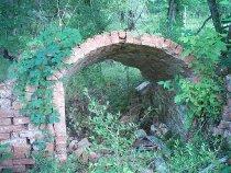 Image of osceola sugar mill arch