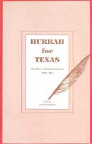 Image of Hurrah for Texas - Sterne, Adolphus