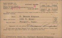 Image of Card, Identification - 1998.020c.0040