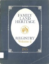 Image of Family Land Hertage Registry - Texas Department of Agriculture