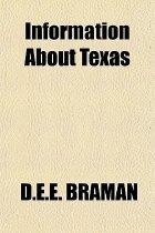Image of Information About Texas - Braman, D.E.E.