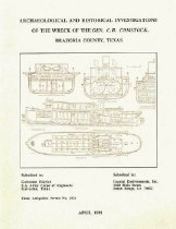 "Image of Archaeological and Historical Investigations of the Wreck of the ""General C.B. Comstock"", Brazoria County, Texas - U.S. Army Corps of Engineers - Galveston District"