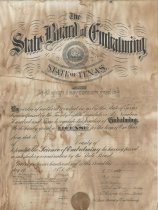 Image of License, Occupational - 1991.003c.0072