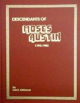 Image of Descendants of Moses Austin 1793-1983 - Adriance, Lois Brock
