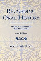 Image of Recording Oral History - Yow, Valerie Raleigh
