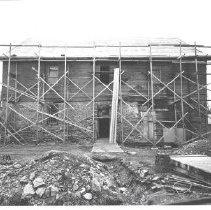 Image of 1969.00363.006 - Burwell-Morgan Mill: West Facade, Jan 1965