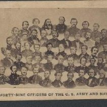 Image of 1986.00162.001 - Confederate Army Officers