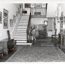 Image of 1986.00224.134 - Annfield [21-2]-Entrance Hall, 1977