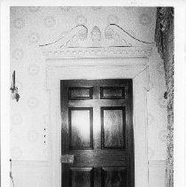 Image of Carter Hall-Drawing Room Door, 1977