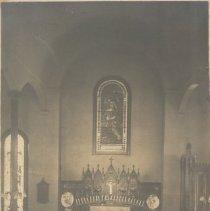 Image of 1990.00303.005.A,B - Grace Episcopal Church-Interior