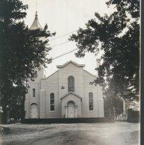 Image of 1990.00303.009.A,B - Grace Episcopal Church-Exterior, 1926