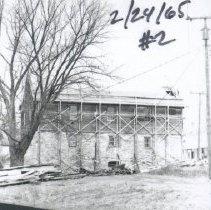Image of 1994.00363.001 - Burwell-Morgan Mill: East Facade, 1965