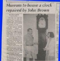 Image of Frankford 'John Brown' Clock