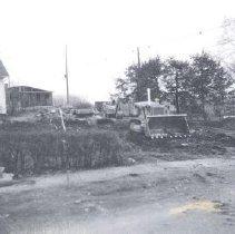 Image of 1999.00475.008 - Methodist Parsonage-Rosemont Circle-Site Work, 1969