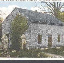 Image of 2000.00006.001 - Old Chapel-Caretaker & wall
