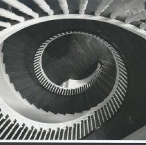 Image of 2003.00027.354 - Long Branch-Latrobe Stairwell, c 1950s
