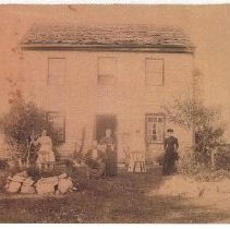 Image of 2004.00025.001 - Russell, Thomas W.-Family & Home, c 1880s