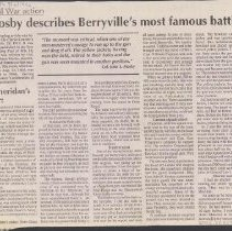 Image of 2005.00009.010 - Civil War-Berryville Wagon Train Raid-News Article, 1912