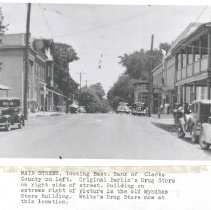 Image of 2005.00013.007 - Berryville-Main & Church-View East,c 1920s