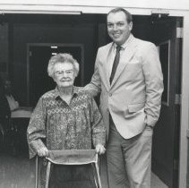 Image of 2005.00023.293.B - Rose Hill Nursing Home-Administrator & Resident, 1989