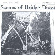 Image of 2005.00023.419 - Castleman's Ferry Bridge-Collapse, Aug 1939