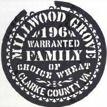 Image of 2005.00029.007.A - Millwood Grove Family Flour-Stencil