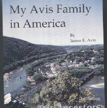Image of 929.2  Avis - My Avis Family in America-Version 3