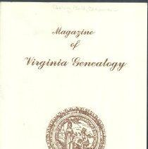 Image of Magazine of Virginia Genealogy - Nov 2007 [V45-#4]