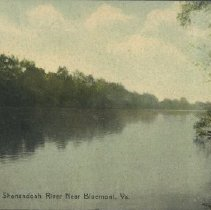 Image of Shenandoah River-1923 Postcard
