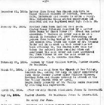 Image of Salem Baptist Church Records-p17