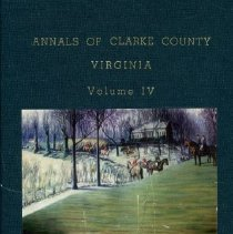 Image of 975.598 Brown - Annals of Clarke County, Virginia: Vol. IV-Homes North of Route 50