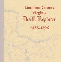 Image of Loudoun County, Virginia, Death Register, 1853-1896