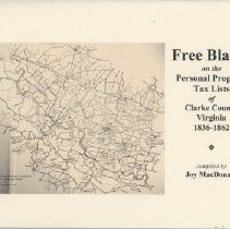 """Image of 975.598 MacD - """"Free Blacks on the Personal Property Tax Lists, Clarke County, VA, 1836-1862"""""""
