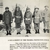 Image of 2014.00006.111-50b - Virginia Protective Force, c1942
