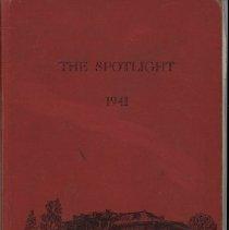 Image of Berryville High School-Yearbook-The Spotlight, 1941