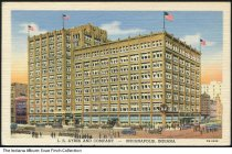 Image of Postcard of L. S. Ayres Department Store, Indianapolis, Indiana, ca. 1947 - Postmarked September 4, 1947.