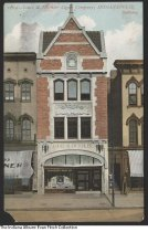 Image of Postcard of the Deschler Cigar Company, Indianapolis, Indiana, ca. 1915 - Exterior of the building that was home to the Louis G. Deschler Cigar Company.