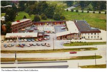 Image of Postcard of the Carmel Motel, Carmel, Indiana  ca. 1960