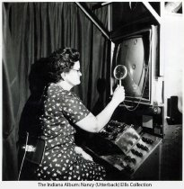 Image of Inspection of a RCA television in Indianapolis, Indiana
