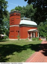 Image of Photo of Gen. Lew Wallace Museum, Crawfordsville, Indiana, ca. 2010 - Snapshot of the Gen. Lew Wallace Study & Museum.