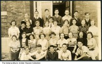 Image of Class photo with names on the back,  Indianapolis, Indiana, 1930s