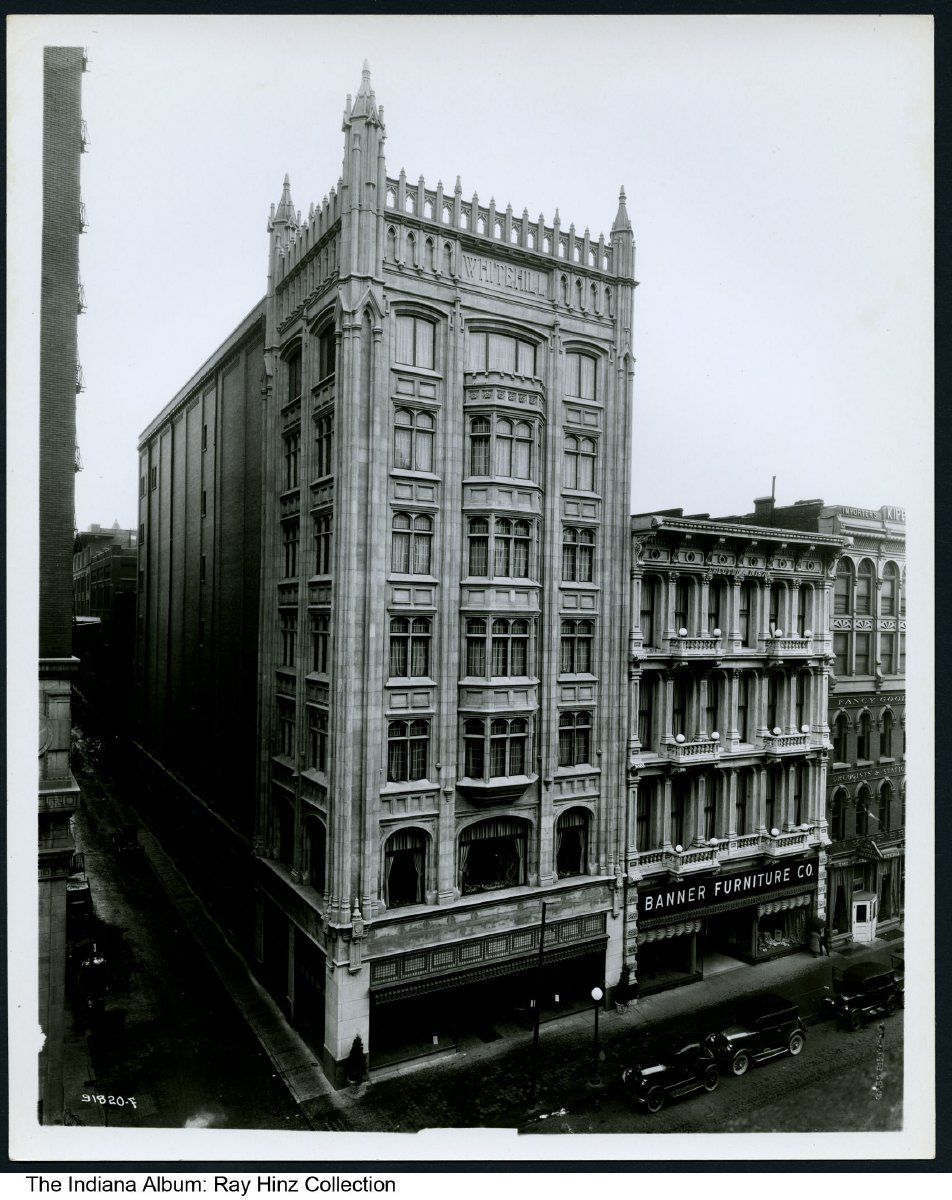Superieur Photo Of The Whitehill Building And Banner Furniture, Indianapolis, Indiana,  1925