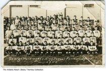Image of George Washington High School football squad, Indianapolis, Indiana, 1940