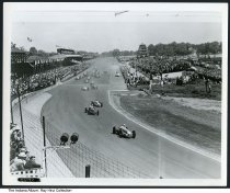 Image of 1950 Indy 500 Race, Indianapolis, Indiana  -