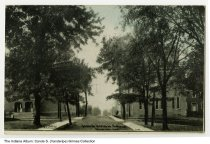 Image of Postcard of Central Normal College, Danville, Indiana, ca. 1913 -  Postmarked 1913.