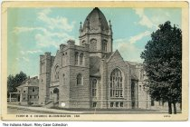 Image of First Methodist Episcopal Church, Bloomington, Indiana, 1928 - Postmarked 1928