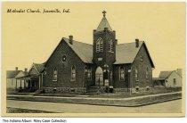 Image of Methodist Church, Jasonville, Indiana, ca. 1915 -