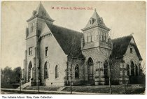 Image of Methodist Episcopal Church, Spencer, Indiana, ca. 1920 -